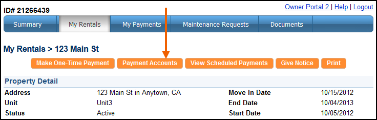 Setting Up an Online Payment Account