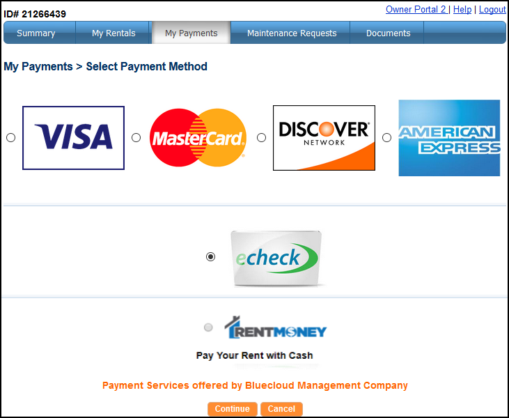 Select Payment Method